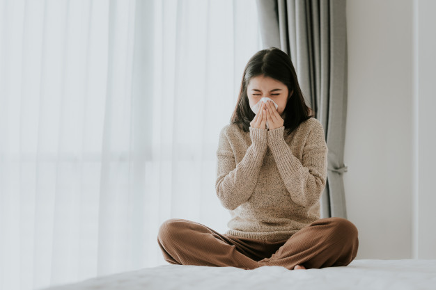 อาการและการรักษาของไข้หวัด